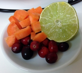 carrot cranberry lime